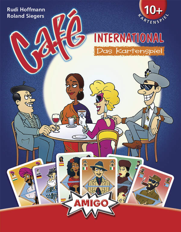 Café International Kartenspiel