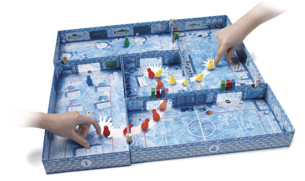 Spielsituation ICECOOL